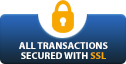 Transactions secured with SSL
